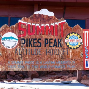 Pikes Peak Challenge Summit Hikers